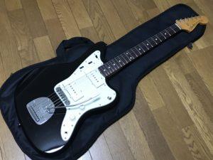 【改造】フェンダージャパンのジャズマスターに無理矢理ハムバッカーを取り付けてみた。