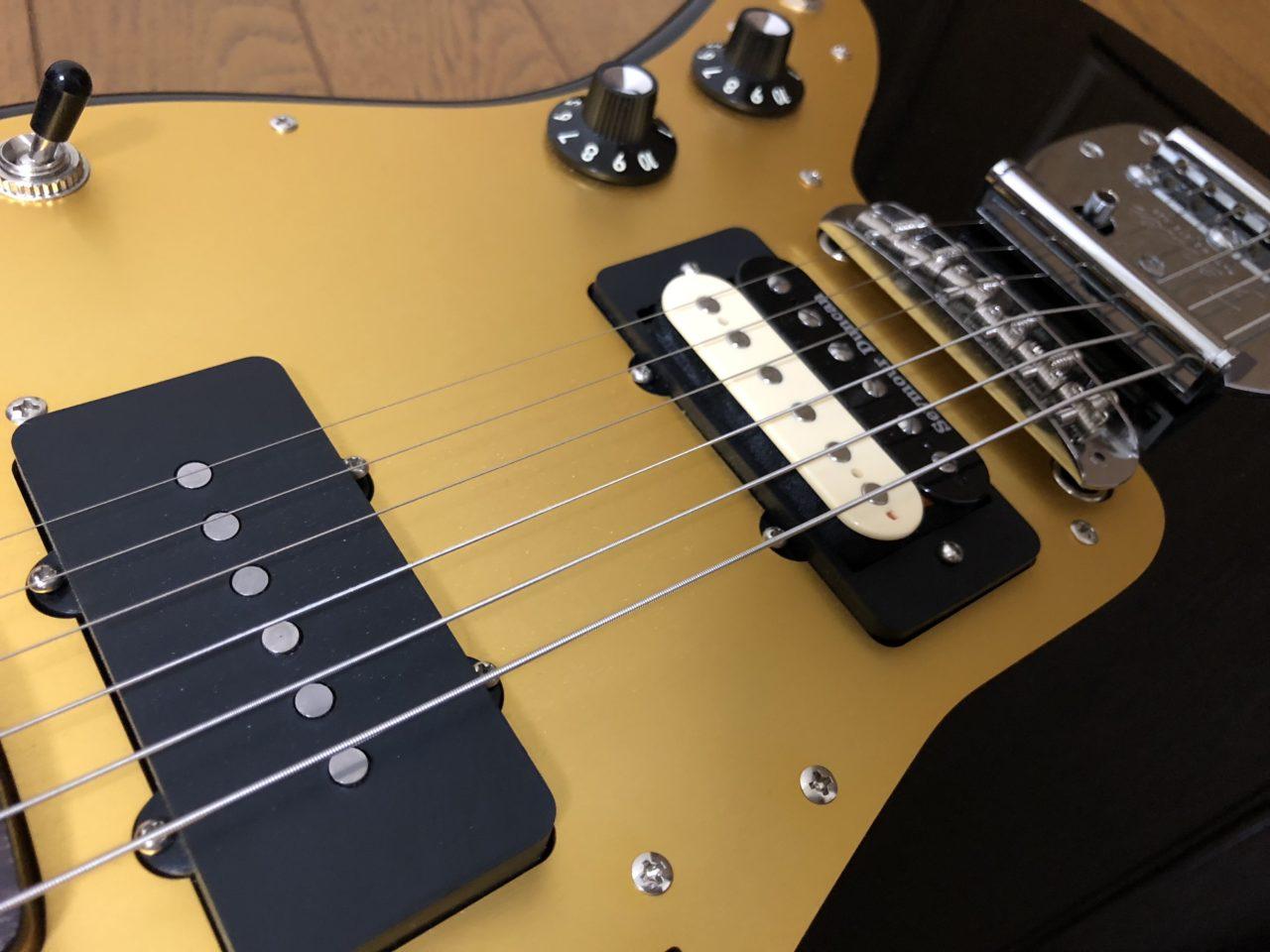 【改造】フェンダージャパンのジャズマスターに簡単にハムバッカーを取り付ける方法