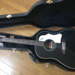 お気に入りのアコギ【2015年製 Gibson Custom Shop J-45 Adjustable Saddle Ebony Black VOS 】