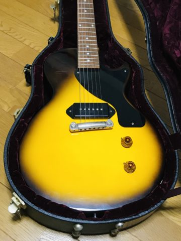 【機材紹介】最もシンプルなエレキギター?Gibson レスポールジュニア【ヒスコレ】