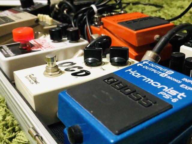 【レビュー】管理人のエフェクターボードを紹介するよ!【随時更新】