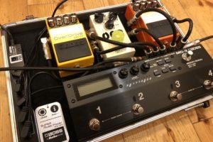 【レビュー】BOSS MS-3を練習スタジオで使ってきた感想。良い点・悪い点を紹介します。