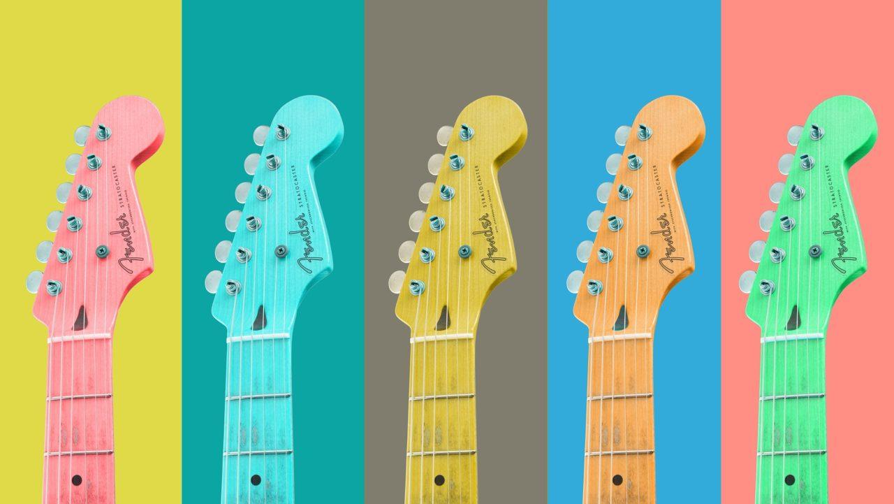 【コラム】ギターやベースの色はどれがおすすめ?人気のあるカラーと不人気のカラーは何色だ?