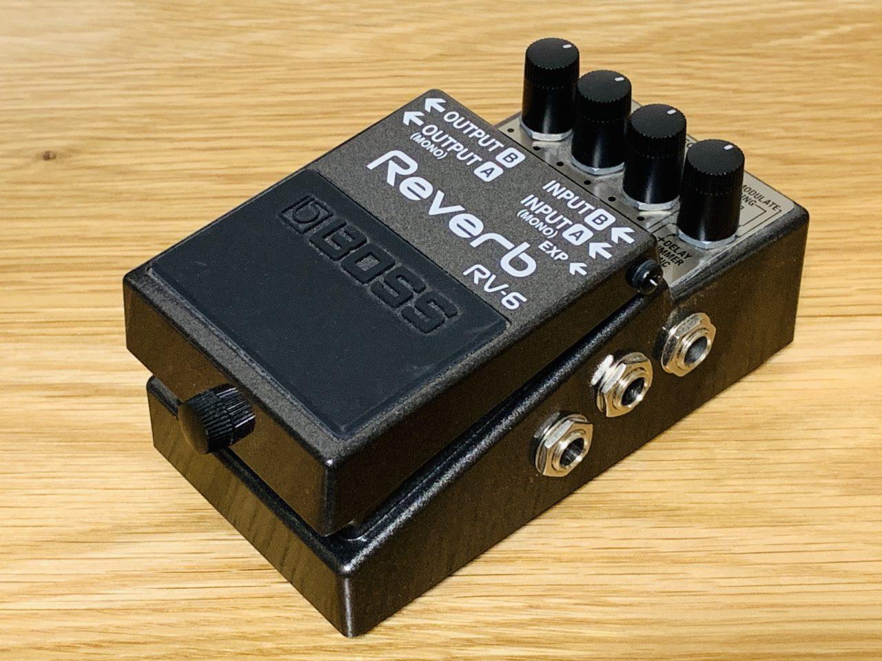 【レビュー】コンパクトリバーブの決定版!BOSS RV-6 Reverb を弾いてみた!