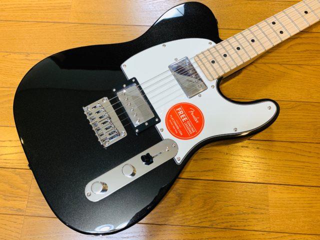 Squier Contemporary(コンテンポラリー)シリーズのテレキャスター購入!とても弾きやすいギターです。