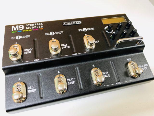 汎用性高過ぎ!LINE6のマルチエフェクターM9をレビューします!