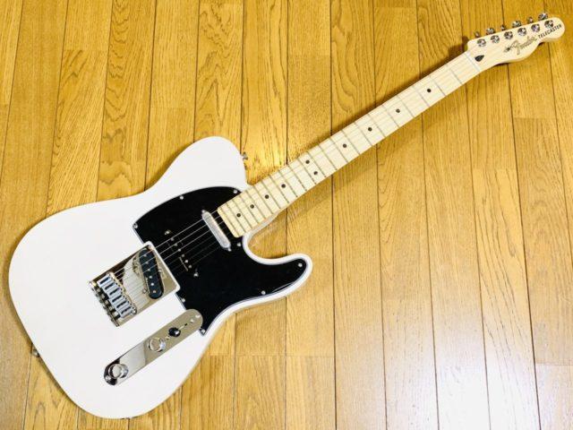 【レビュー】FenderMexicoのDeluxe Nashville Telecasterは最強のテレキャスター!?
