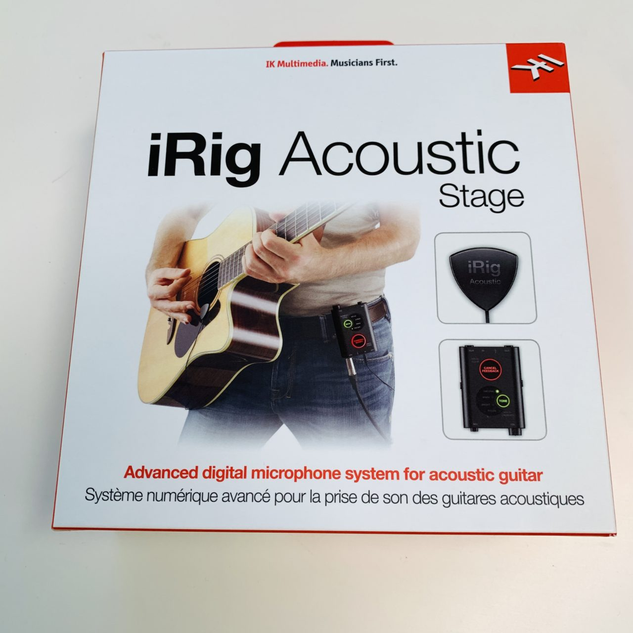 【レビュー】アコギ用のマイクとプリアンプはiRig Acoustic Stage が便利!マジでオススメ!