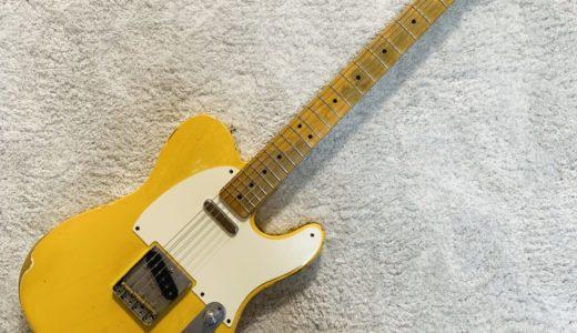 【レビュー】Fender Mexico ROAD WORN 50s Telecasterの評価・評判ってどうなの?
