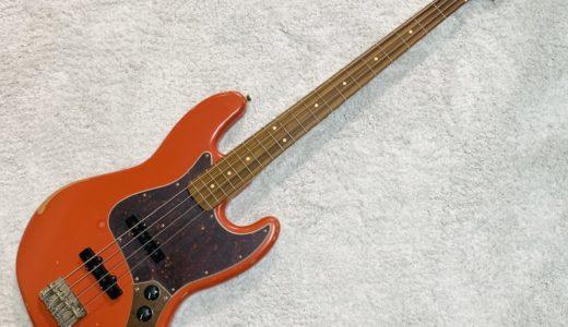 【レビュー】Fender Mexico ROAD WORN 60s Jazzbassを買ったので紹介してみる。
