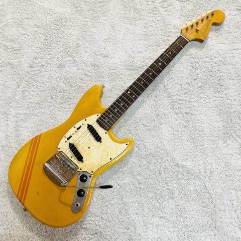 【レビュー】オレンジにコンペラインが目立つ!1969年製のFender Mustang【ヴィンテージ】