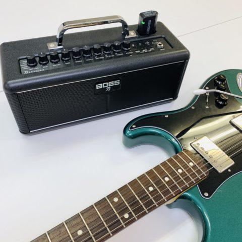 【レビュー】BOSSのワイヤレスギターアンプ「KATANA-AIR」を半年間使ってみた感想。