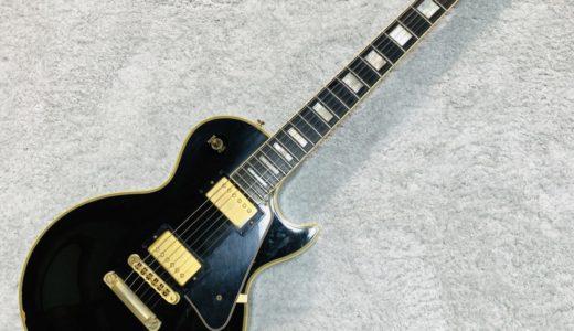 【レビュー】黒いギターってカッコイイよね。Gibson Les Paul Custom(レスポールカスタム)