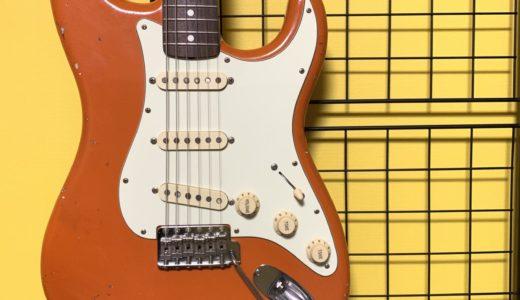 【ギターハンガー】壁にギターを掛けてみたらめっちゃええやん!