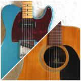 初心者でも絶対にわかる!エレキギターとアコースティックギターの違いを解説するよ