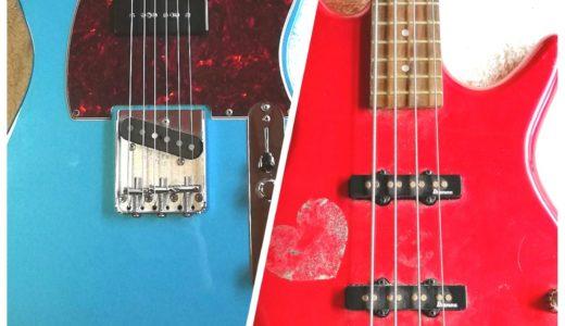 必ずわかるギターとベースの違い!見た目や音、役割の違いを解説するよ