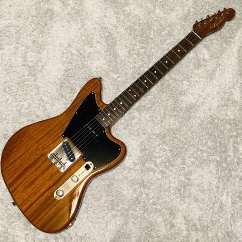 【レビュー】ジャズマスターとテレキャスを合体!Fender Mahogany Offset Telecaster