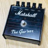【レビュー】元祖アンプライク系ペダル!Marshall The Guv'nor(ガバナー)