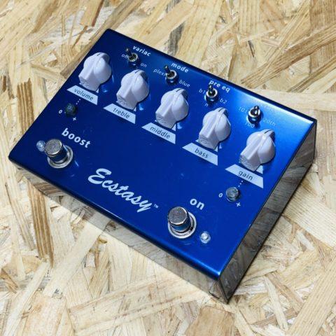 【レビュー】BOGNER Ecstasy Blue(ボグナー エクスタシーブルー)はプレキシ系万能オーバードライブペダル!